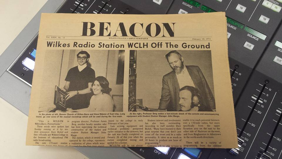 Beacon 1970 WCLH Article